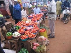 Wobulenzi market, central Uganda.
