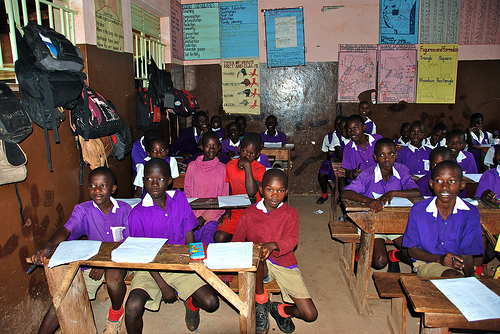 Nakulabye classroom, Uganda